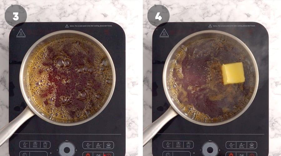 Instructional image for Salted Caramel Sauce 02